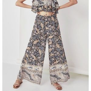 💮 SPELL OASIS PALAZZO PANTS NIGHTSHADE L 💮